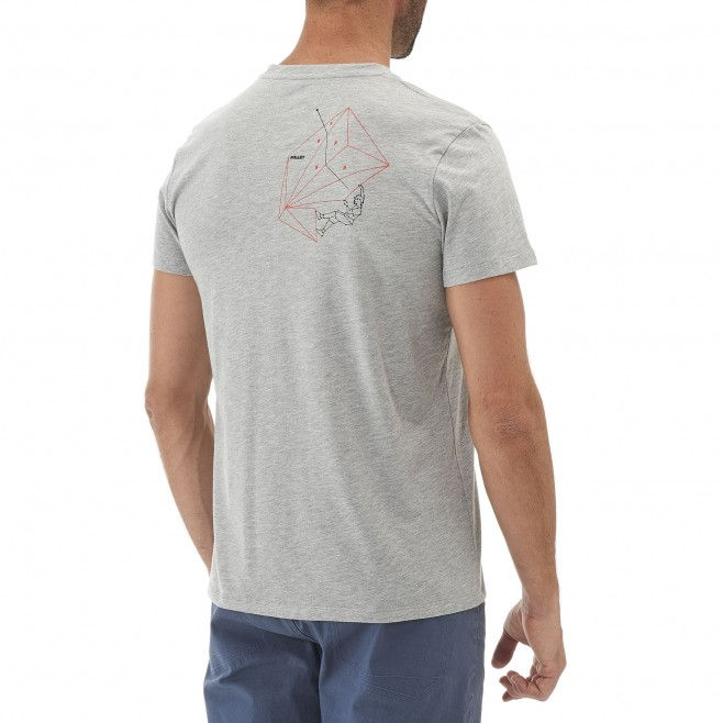 Climbing - Men's t-shirt - Grey COSIBAL TS SS Millet 3