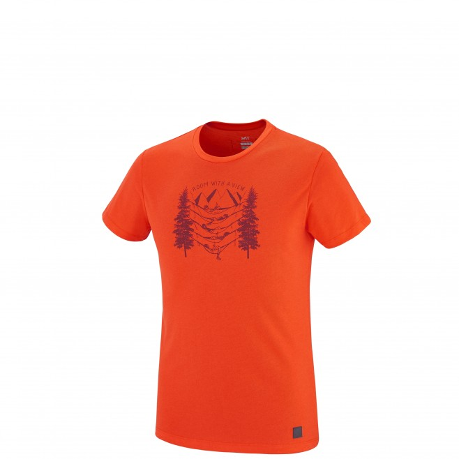 Climbing - Men's t-shirt - Orange BARRINHA TS SS Millet
