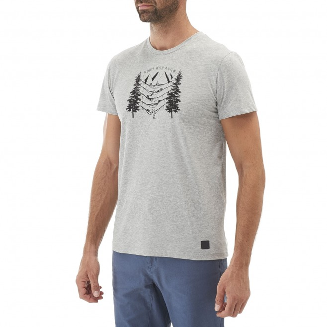Climbing - Men's t-shirt - Grey BARRINHA TS SS Millet 2