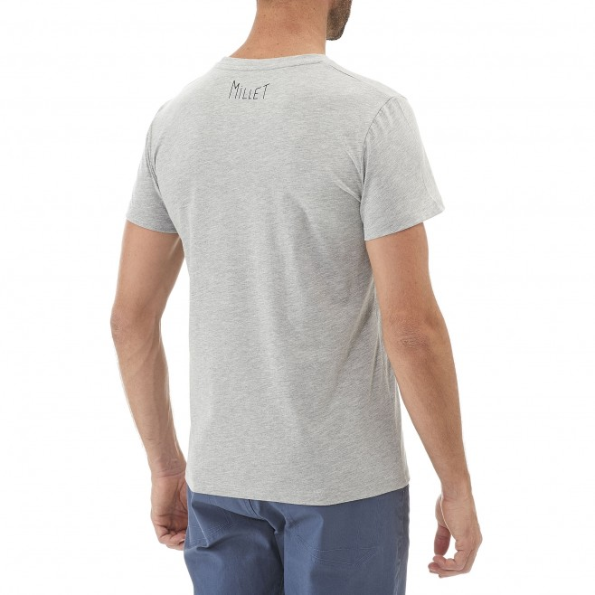Climbing - Men's t-shirt - Grey BARRINHA TS SS Millet 3