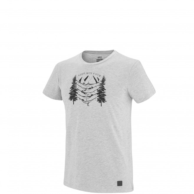 Climbing - Men's t-shirt - Grey BARRINHA TS SS Millet