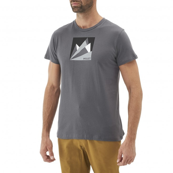 Climbing - Men's t-shirt - Orange MILLET FAN MOUNTAIN TS SS Millet 2