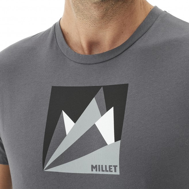 Climbing - Men's t-shirt - Orange MILLET FAN MOUNTAIN TS SS Millet 4