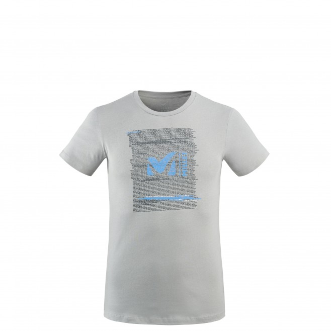 Men's tee-shirt - grey MILLET RISE UP TS SS M Millet