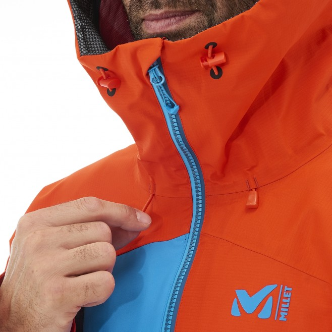 Men's gore-tex jacket - mountaineering - navy-blue ELEVATION ONE GTX JKT Millet 4