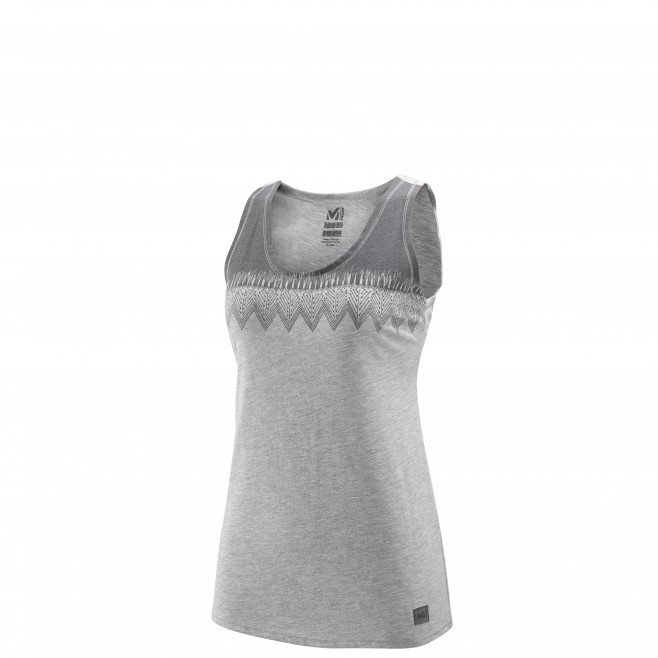 Climbing - Women's t-shirt - Grey LD BARRINHA TANK Millet