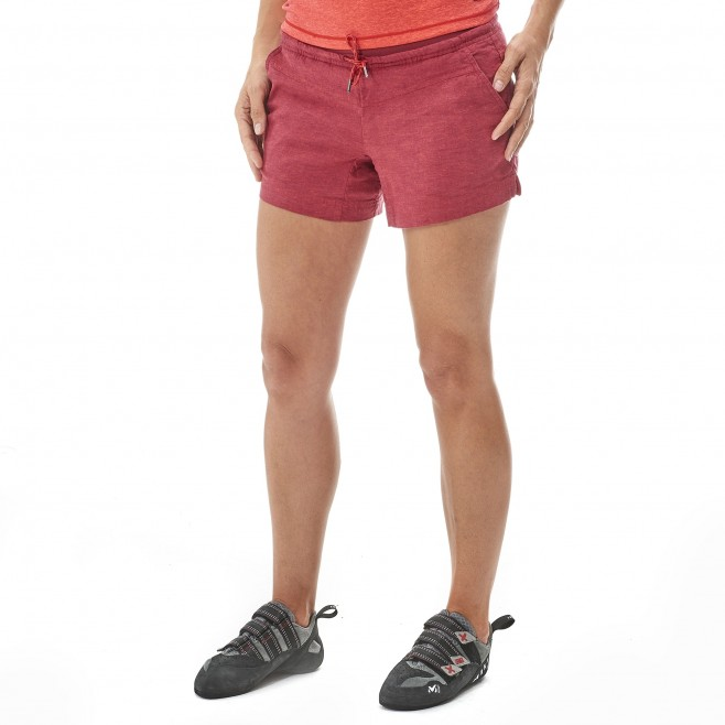 Women's short - climbing - blue LD BABILONIA HEMP SHORT Millet 2
