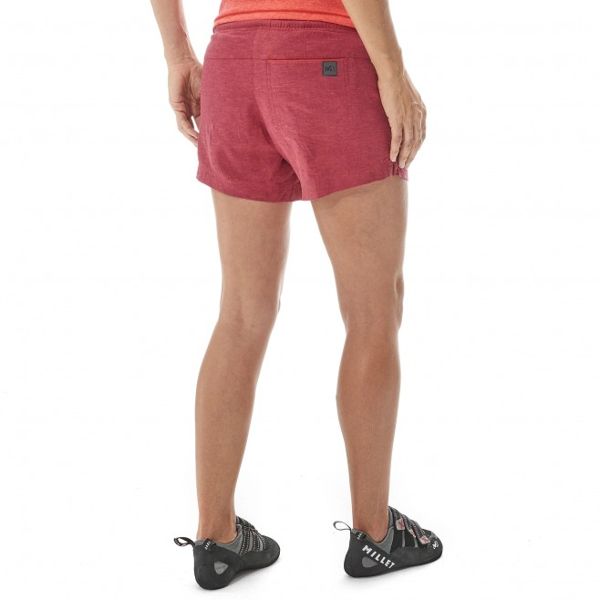 Women's short - climbing - blue LD BABILONIA HEMP SHORT Millet 3