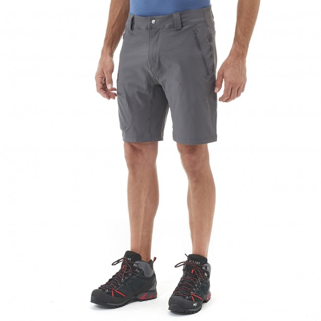 Trekking - Men's short - Black TREKKER STRETCH II SHORT Millet 2