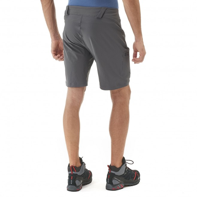 Trekking - Men's short - Black TREKKER STRETCH II SHORT Millet 3