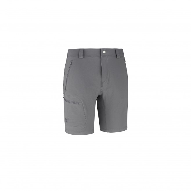 Trekking - Men's short - Grey TREKKER STRETCH II SHORT Millet