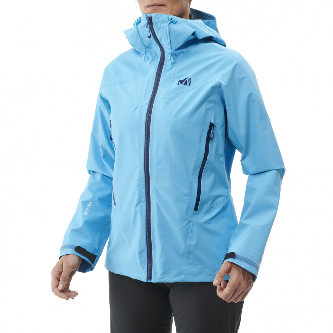 Women's gore-tex jacket - navy-blue LD KAMET LIGHT GTX JKT Millet 3