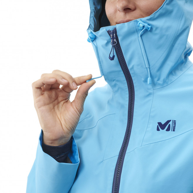 Women's gore-tex jacket - mountaineering - pink LD KAMET LIGHT GTX JKT Millet 6