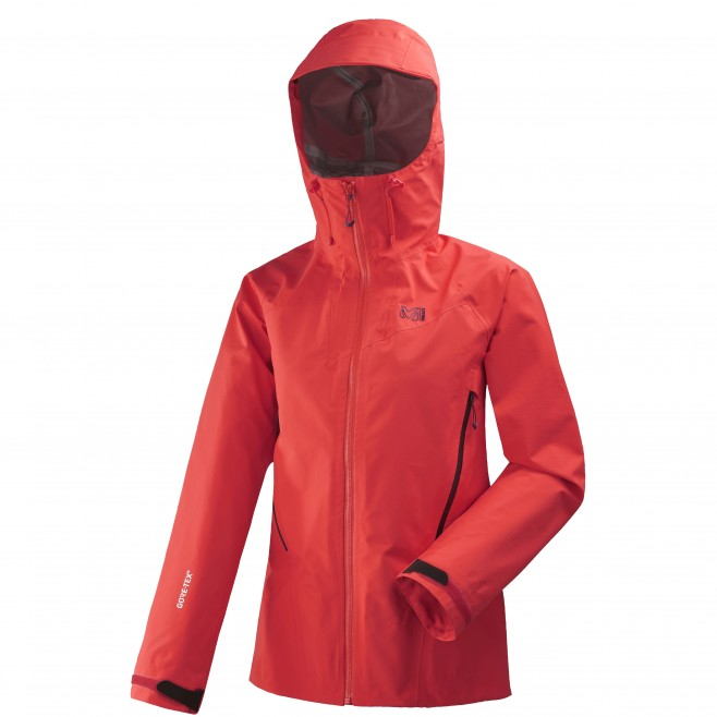 Women's gore-tex jacket - mountaineering - red LD KAMET LIGHT GTX JKT Millet