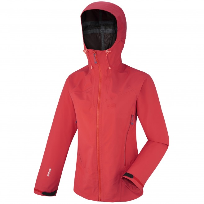 Mountaineering - Women's jacket - Pink LD KAMET LIGHT GTX JKT Millet