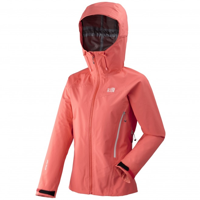 Women's gore-tex jacket - mountaineering - pink LD KAMET LIGHT GTX JKT Millet