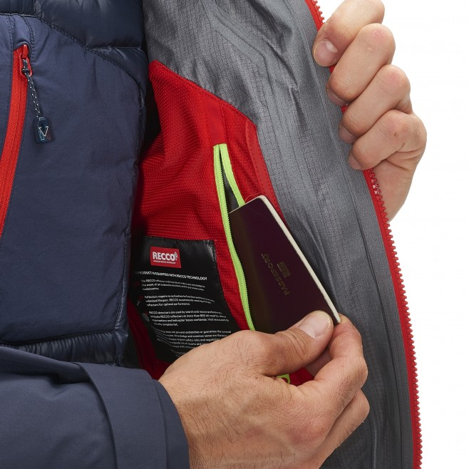 Mountaineering - Men's jacket - Red TRILOGY V ICON DUAL GTX PRO JKT Millet 7