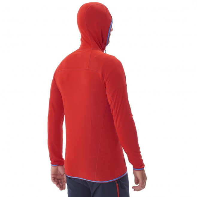Men's lightweight fleece jacket - mountaineering - navy-blue TRILOGY LIGHT HOODIE Millet 5