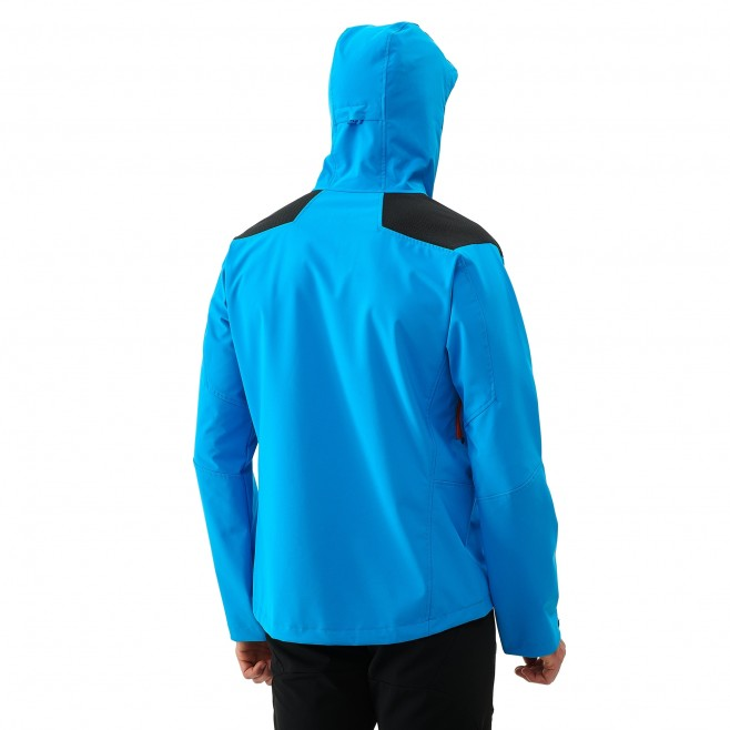 Men's softshell jacket - black K SHIELD HOODIE Millet 3