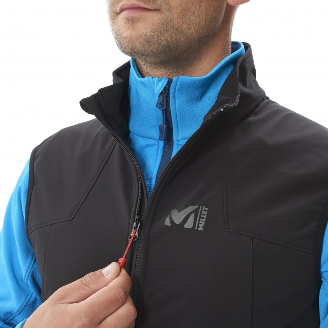 Mountaineering - Men's jacket - Blue K SHIELD VEST Millet 5