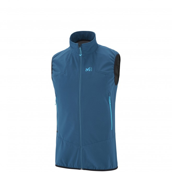 Mountaineering - Men's jacket - Blue K SHIELD VEST Millet