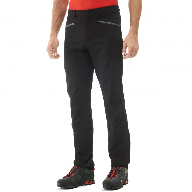 Men's wind resistant pant - mountaineering - black SUMMIT PANT Millet 2