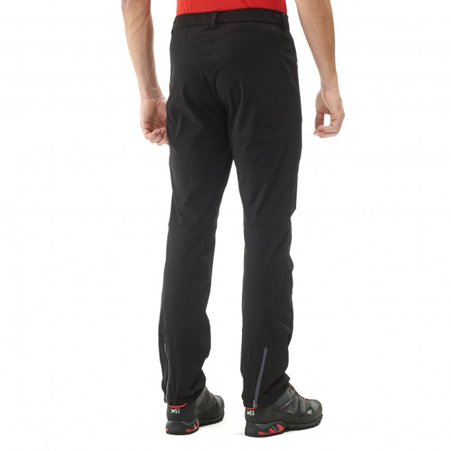 Men's wind resistant pant - mountaineering - black SUMMIT PANT Millet 3