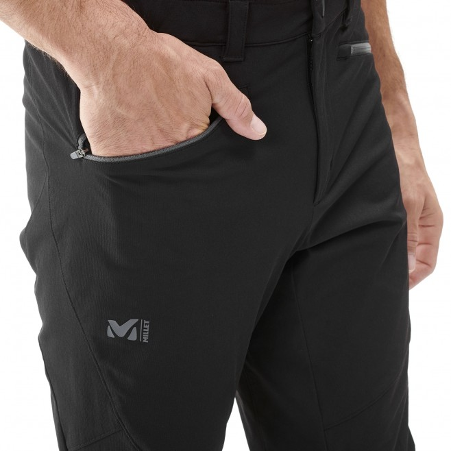 Men's wind resistant pant - mountaineering - black SUMMIT PANT Millet 4