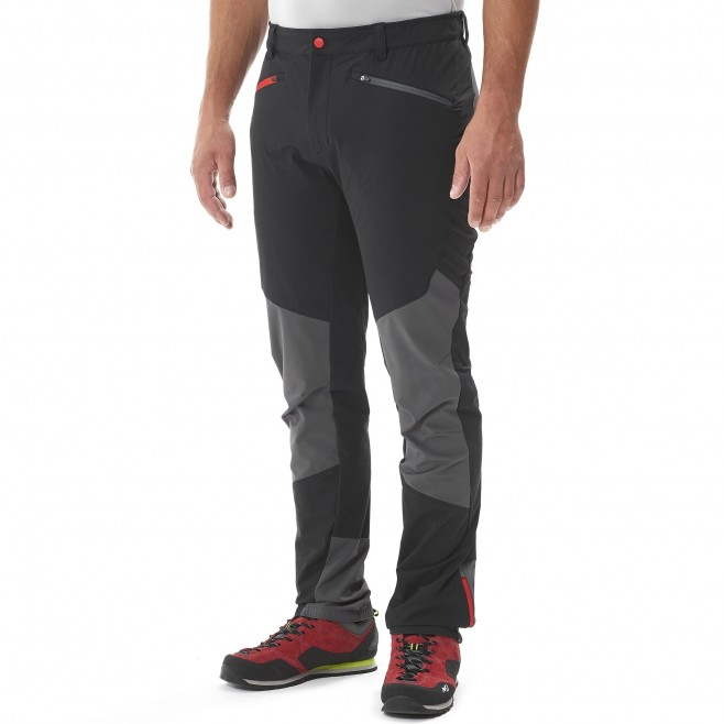 Mountaineering - Men's pant - Black SUMMIT PANT Millet 2