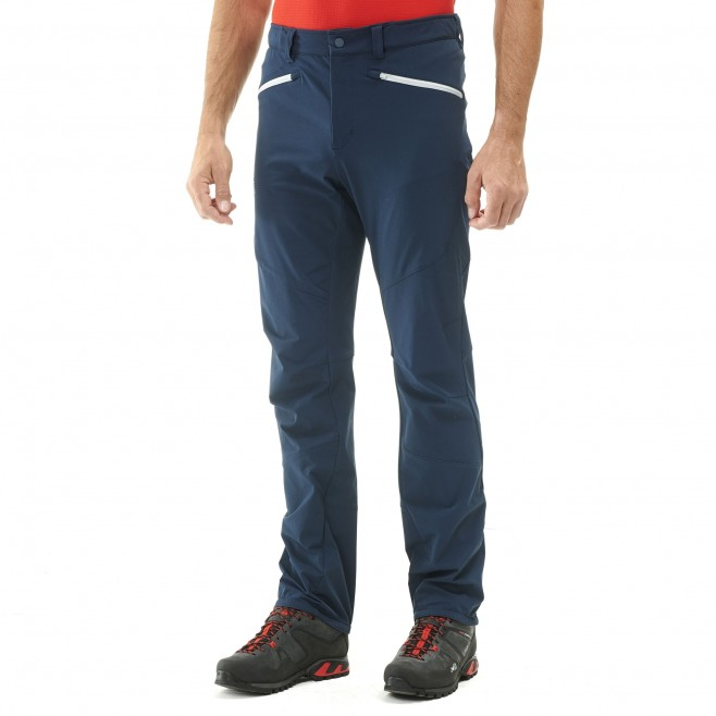 Men's wind resistant pant - mountaineering - navy-blue SUMMIT PANT Millet 2