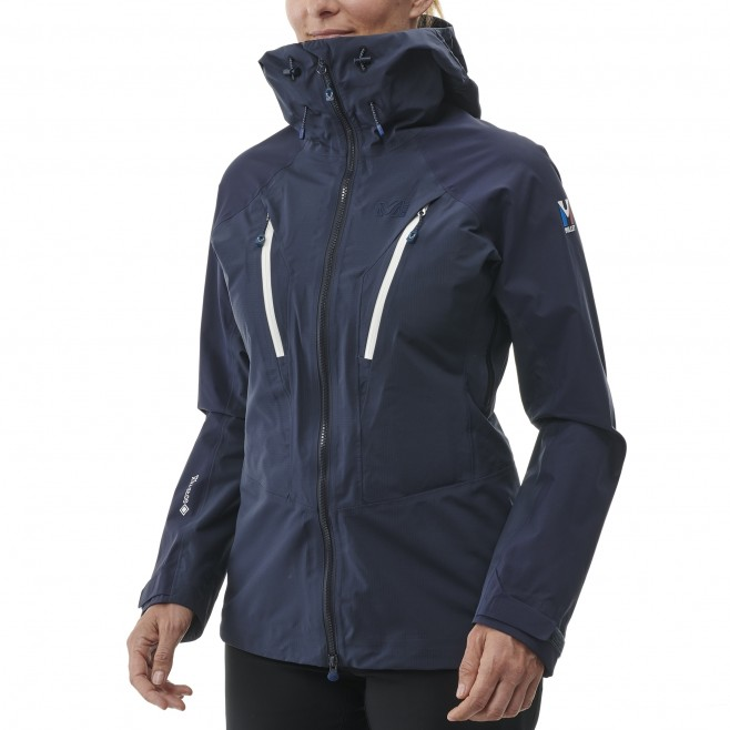 Women's Gore-Tex jacket - navy-blue TRILOGY V ICON DUAL GTX PRO JKT W Millet 2