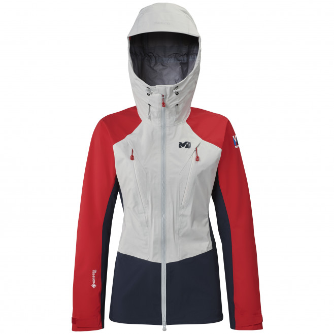 Women's gore-tex jacket - white TRILOGY V ICON DUAL GTX PRO JKT W Millet