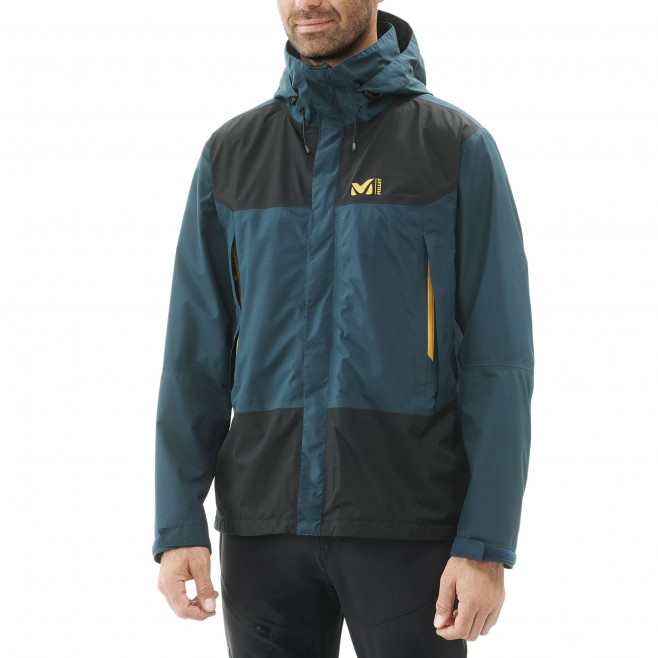 Men's gore-tex jacket - hiking - navy-blue GRANDS MONTETS GTX JKT Millet 8
