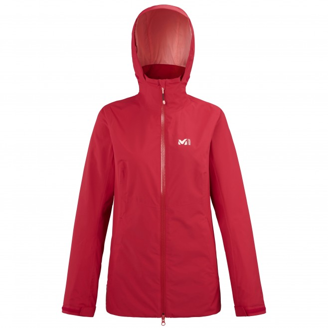Women's waterproof jacket - red HIGHLAND 2L JKT W Millet
