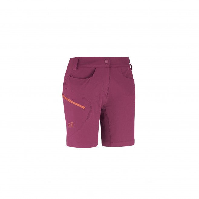 Trekking - Women's short - Purple LD TREKKER STRETCH SHORT Millet
