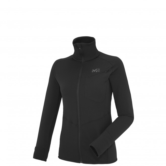 Trail running - Women's fleece jacket - Black LD LTK THERMAL JKT Millet