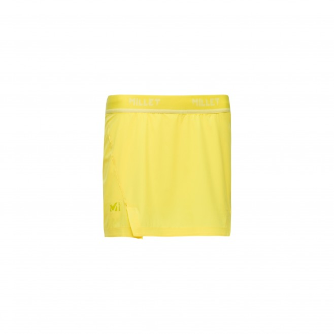 Trail running - Women's short - Yellow LD LTK INTENSE SKIRT Millet
