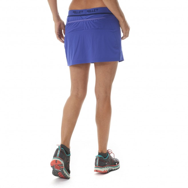 Trail running - Women's short - Yellow LD LTK INTENSE SKIRT Millet 3