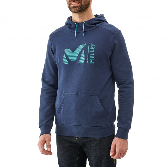 Men's sweatshirt - climbing - blue MILLET SWEAT HOODIE Millet 2