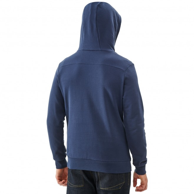 Men's sweatshirt - climbing - blue MILLET SWEAT HOODIE Millet 3