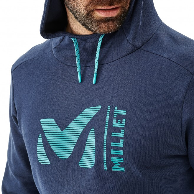 Men's sweatshirt - climbing - blue MILLET SWEAT HOODIE Millet 4