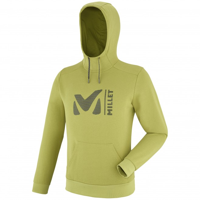 Men's sweatshirt - climbing - green MILLET SWEAT HOODIE Millet