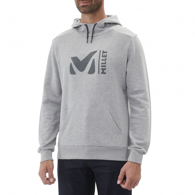 Men's urban look sweat - climbing - grey MILLET SWEAT HOODIE Millet 5