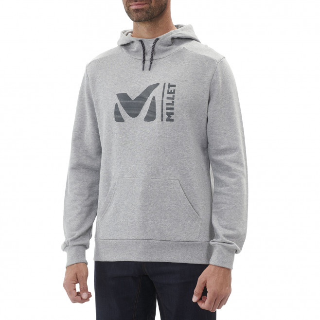 Men's urban look sweatshirt - grey MILLET SWEAT HOODIE Millet 2
