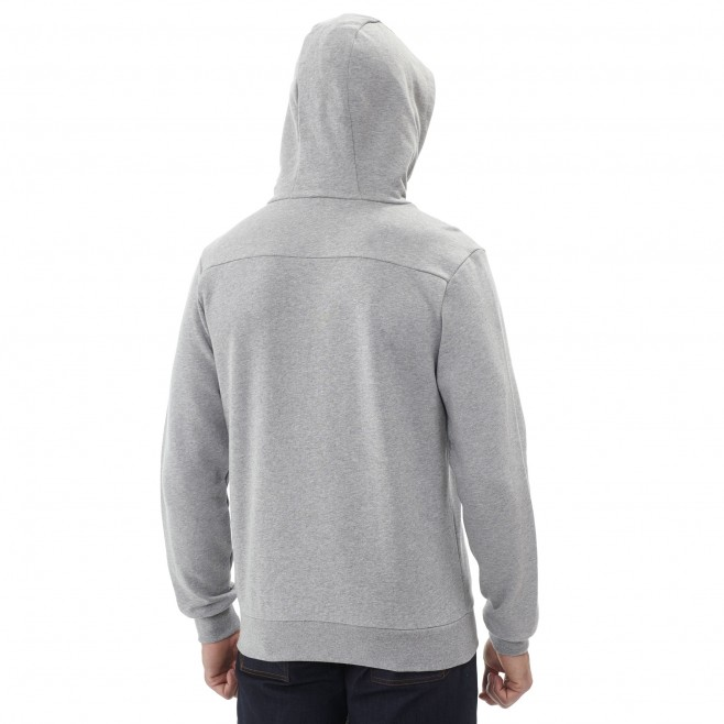 Men's urban look sweat - climbing - grey MILLET SWEAT HOODIE Millet 6