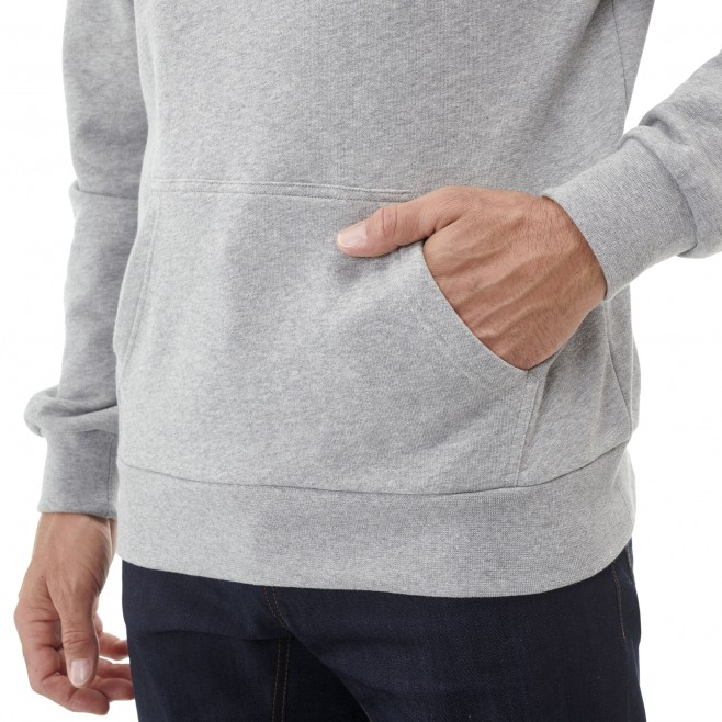 Men's urban look sweat - climbing - grey MILLET SWEAT HOODIE Millet 2