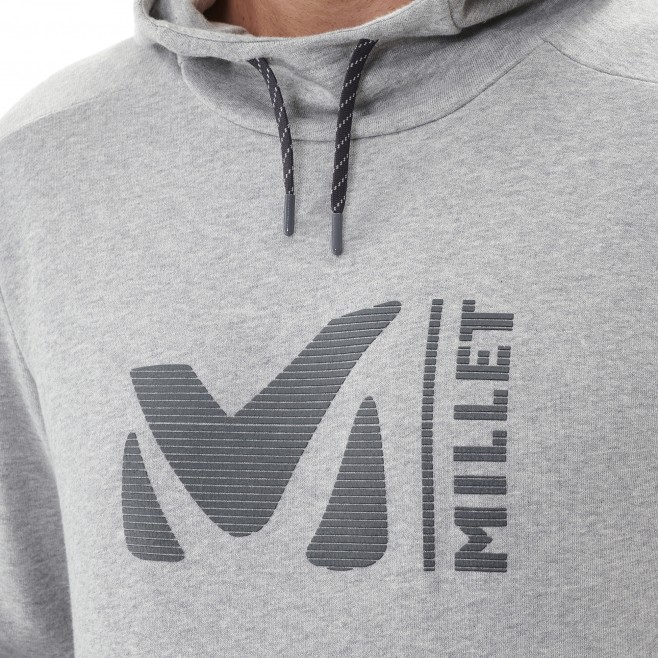 Men's sweat - red MILLET SWEAT HOODIE M Millet 5