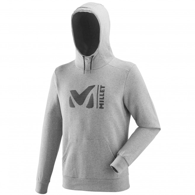 Men's urban look sweat - climbing - grey MILLET SWEAT HOODIE Millet