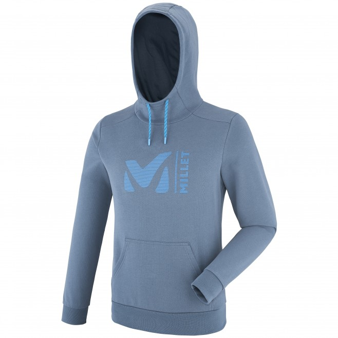 Men's sweatshirt - climbing - blue MILLET SWEAT HOODIE Millet