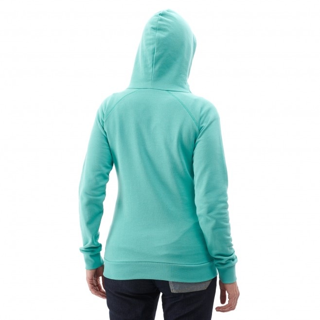 Women's sweatshirt - climbing - grey LD LINE ROPE SWEAT Millet 3